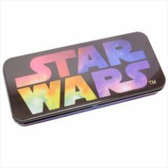 スターウォーズ 缶ペンケース キャラカンペン スペースロゴ STAR WARS キャラクターグッズ通販