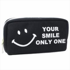 スマイリーフェイス ペンケース BOXペンポーチ ロゴ Smiley Face キャラクターグッズ通販