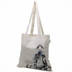 スターウォーズ 最後のジェダイ エコバッグ エコマーク付コットンバッグ エピソード8 R2-D2 STAR WARS キャラクターグッズ通販 【メール