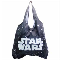 スターウォーズ 最後のジェダイ エコバッグ くるくるECO BAG エピソード8 ロゴ STAR WARS キャラクターグッズ通販