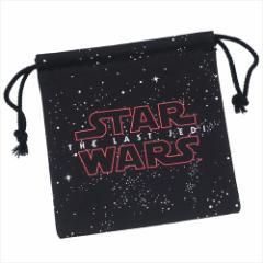 スターウォーズ 最後のジェダイ 巾着袋 きんちゃくポーチ エピソード8 ロゴ STAR WARS キャラクターグッズ通販 【メール便可】