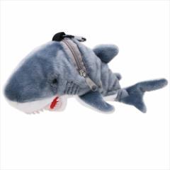 サメ カラビナポーチ ぬいぐるみポーチアニマル おもしろ雑貨グッズ通販