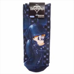 キングダムハーツ 女性用靴下 レディースプリントソックス ミッキーマウス ディズニー キャラクターグッズ通販 【メール便可】