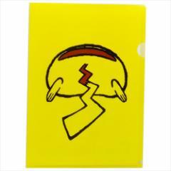 ポケットモンスター ファイル A4シングルクリアファイル ピカチュウおしり ポケモン キャラクターグッズ通販 【メール便可】