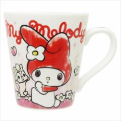 マイメロディ マグカップ 陶器製MUG フラッフィー レッド サンリオ キャラクターグッズ通販