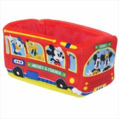 ミッキー&フレンズ 卓上収納 バス型ぬいぐるみ小物入れディズニー キャラクターグッズ通販