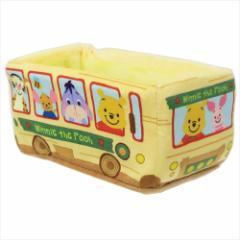 くまのプーさん 卓上収納 バス型ぬいぐるみ小物入れディズニー キャラクターグッズ通販