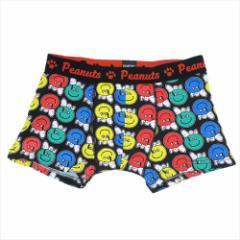 スヌーピー 男性用下着 メンズボクサーパンツ カラフル ピーナッツ キャラクターグッズ メール便可