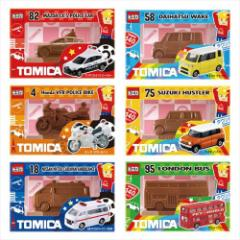 トミカ お菓子 チョコレート 立体フィギュアチョコ バレンタイン TOMICA キャラクターグッズ通販