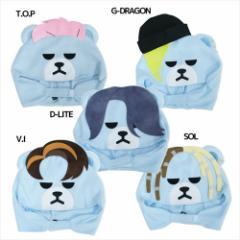 KRUNK × BIGBANG 着ぐるみキャップ ぬいぐるみコスプレ帽子 FXXK IT ビッグバン キャラクター グッズ