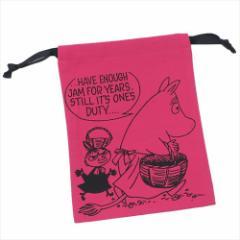 ムーミン 巾着袋 パレットきんちゃく 収穫PK 北欧 キャラクターグッズ通販 【メール便可】