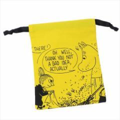 ムーミン 巾着袋 パレットきんちゃく 掃除YE 北欧 キャラクターグッズ通販 【メール便可】