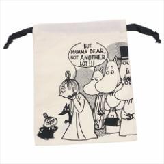 ムーミン 巾着袋 パレットきんちゃく びっくりNA 北欧 キャラクターグッズ通販 【メール便可】
