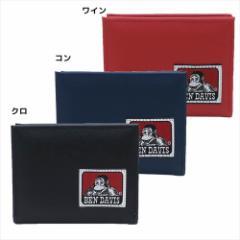 ベンデイビス メンズウォレット L字ファスナー二つ折り財布 織りネームシリーズ BEN DAVIS メンズブランドグッズ通販