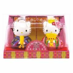ハローキティ ひな祭り お菓子 陶器製雛人形with菓子サンリオ キャラクター グッズ