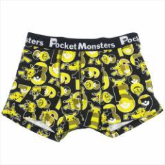 ポケットモンスター 男性用下着 メンズボクサーパンツ ナンバーいっぱい ポケモン キャラクターグッズ メール便可