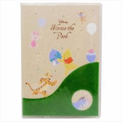 くまのプーさん 2018年 手帳 メール便限定 送料無料 A6 週間 スケジュール帳 芝生 ディズニー キャラクター