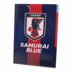サッカー日本代表2018 ファイル 5インデックスA4クリアファイル レッドライン フットボール グッズ