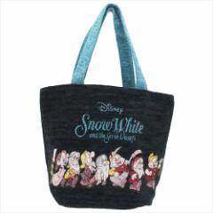 白雪姫 ランチバッグ ゴブラン織りミニトート ノワールハイホー ディズニー キャラクターグッズ通販