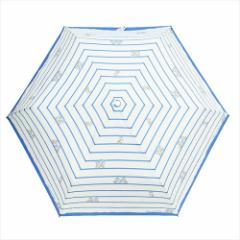 チップ&デール 折畳傘 レディース折りたたみ傘 ボーダー ディズニー キャラクターグッズ通販