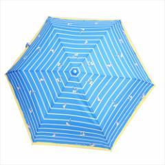 ドナルド&デイジー 折畳傘 レディース折りたたみ傘 ボーダー ディズニー キャラクターグッズ通販