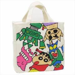 クレヨンしんちゃん 保冷ランチバッグ 天ファスナー付きスクエア保冷バッグ おきにいり  キャラクターグッズ通販