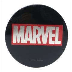 MARVEL 缶バッジ ビッグカンバッジ BOXロゴ マーベル キャラクターグッズ通販 メール便可