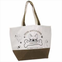 フクちゃん 保冷バッグ トート型保冷ショッピングバッグ フレンチブルドッグ いぬ お買い物かばんグッズ通販