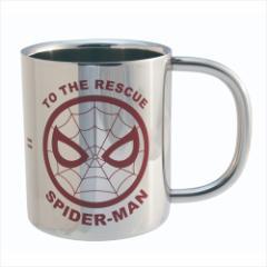 スパイダーマン 保温保冷マグカップ ステンレス二重マグカップ アイコンシリーズ マーベル キャラクターグッズ通販