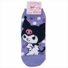 クロミ 女性用靴下 レディースソックス パステルドット サンリオ キャラクターグッズ通販 メール便可