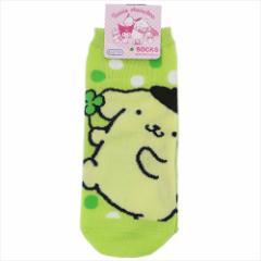 ポムポムプリン 女性用靴下 レディースソックス パステルドット サンリオ キャラクターグッズ通販 メール便可