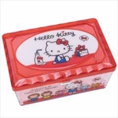 ハローキティ 卓上収納 キラキラフリーケース レッド サンリオ キャラクターグッズ通販