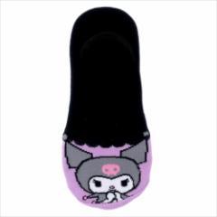 クロミ 女性用靴下 レディースフットカバー フリル サンリオ キャラクターグッズ通販 メール便可