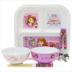 ちいさなプリンセス ソフィア 食器セット 子供用食器 6点セットディズニー キャラクターグッズ通販
