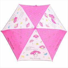 マイメロディ 折畳耐風傘 折りたたみかさ アンブレラ サンリオ キャラクターグッズ通販