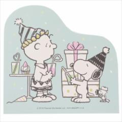 スヌーピー メモ帳 ダイカットメモ パーティー ピーナッツ キャラクターグッズ通販 メール便可