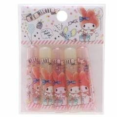 マイメロディ 鉛筆キャップ えんぴつカバー 5本セット バルーン サンリオ キャラクターグッズ通販 メール便可