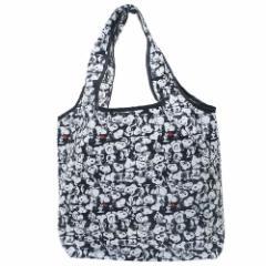 スヌーピー エコバッグ 折りたたみ くるくる ショッピングバッグ ぎっしり ピーナッツ キャラクターグッズ通販 メール便可