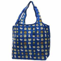 スヌーピー エコバッグ 折りたたみ くるくる ショッピングバッグ なかま ピーナッツ キャラクターグッズ通販 メール便可
