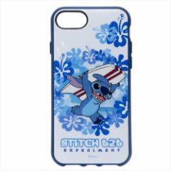 スティッチ iPhone8/7/6s/6ケース IIIIfit アイフォン8/7/6s/6 カバー ハイビスカス ディズニー キャラクターグッズ通販