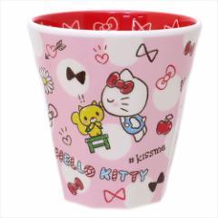 ハローキティ プラカップ Wプリントメラミンカップ チラシ サンリオ キャラクターグッズ通販
