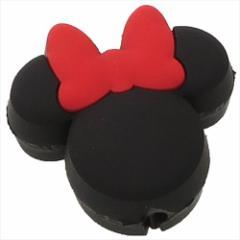 ミニーマウス スマホアクセ iPhoneケーブルマスコット アイコン ディズニー キャラクターグッズ通販 メール便可