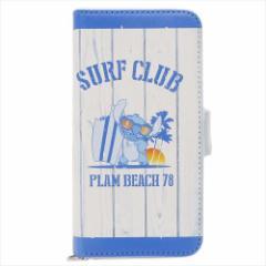 スティッチ 汎用手帳型スマホケース マルチフリップカバー SURF CLUB ディズニー キャラクターグッズ通販