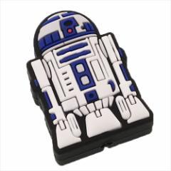 スターウォーズ スマホアクセ iPhoneケーブルマスコット R2-D2 STAR WARS キャラクターグッズ通販 メール便可