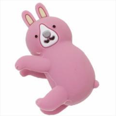 ウサギ iPhoneケーブルマスコット ケーブラアニマル かわいいグッズ通販