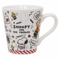 スヌーピー マグカップ スリムマグカップ らくがき ピーナッツ キャラクターグッズ通販