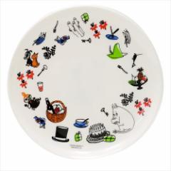 ムーミン 中皿 メラミンプレート ちらし 北欧 キャラクターグッズ通販
