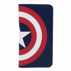 キャプテンアメリカ iPhoneX ケース アイフォンX 手帳型フリップカバーマーベル キャラクターグッズ通販 【メール便可】