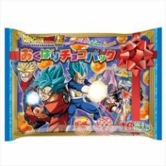 ドラゴンボール超 お菓子 チョコレート おくばりチョコパック 16袋入り バレンタイン  アニメキャラクターグッズ通販