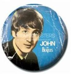 ビートルズ JOHN PR-PB1740 1インチ缶バッジ ファッション雑貨通販 エンタメグッズ メール便可